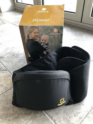 Hippychick Hipseat in Black Boxed