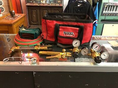 Harris Welding Torch  Kit 72-3 With Gauges and extras nice in bag