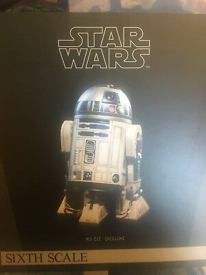Sideshow Star Wars R2-D2 Deluxe 1/6 Scale Figure Exclusive NEW MIB SKU 21721