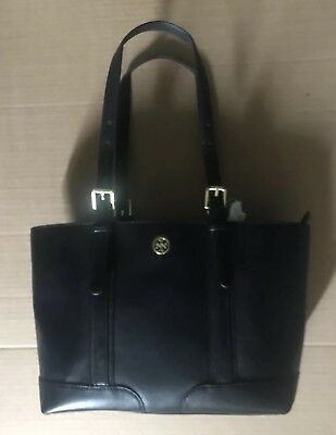0e37803d5037 Tory Burch Landon Pebbled Leather Tote Bag NEW WITH TAGS FREE SHIPPING