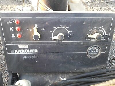 Karcher HDS 890 Hot Water Pressure Washer 2900psi Diesel (city owned )