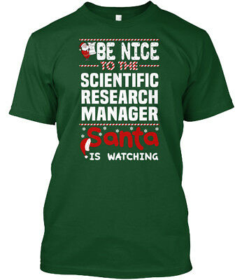 Custom-made Scientific Research Manager - Be Nice To Hanes Tagless Tee T-Shirt