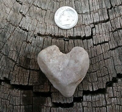 Heart Rock 100% Natural ~ Tumbled and shaped by Mother Nature