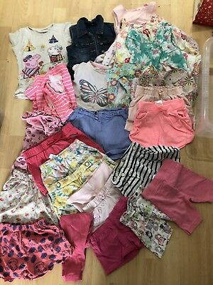 Bundle Of Baby Girls Clothes 18-24 Months