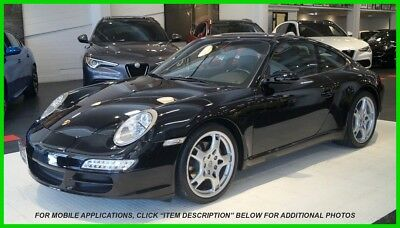 "2007 Porsche 911 Carrera 2-owner Northern California 911, Clean Carfax, 19"" wheels, 14-way power seats"