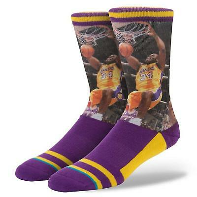 65c50d1b340 Stance Shaquille O Neal Los Angeles Lakers NBA Legends Socks L XL (9