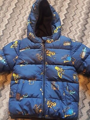 Boys Next Digger Puffa Coat Age18-24months