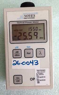 AFL NOYES OPM 4 - 4C Fiber Optic Power Meter