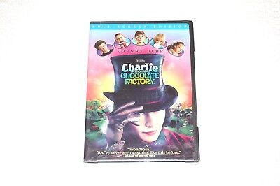 Charlie and the Chocolate Factory Full-Screen Edition DVD (2005)