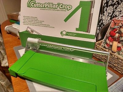 Cutterpillar Crop Paper Trimmer with LED lights - In good used 7/10 condition