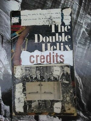 Art Collage On Paperback Book