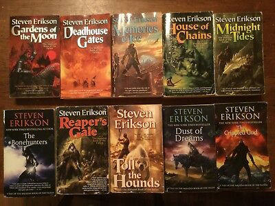 Fallen of audiobook book the malazan