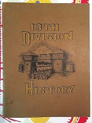 Original Wwi History Of The 13Th Infantry Division Camp Lewis Washington
