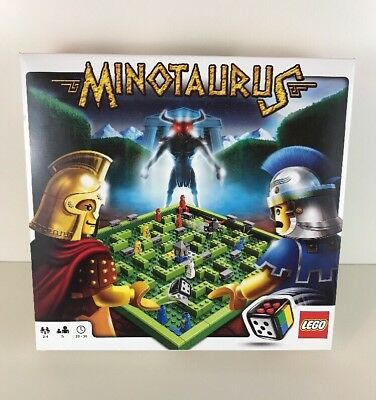 Lego Games 3841 Minotaurus Board Game 100 Complete With