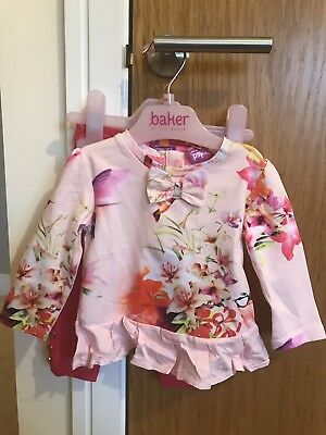 Ted Baker baby girl Two Piece 3-6  Months BNWT