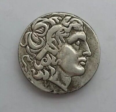 Alexander III The Great Greek Coin  336-323 BC Silver Plated