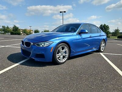 2014 BMW 3-Series M-Sport 2014 BMW 335i M-Sport 6-Speed MANUAL Estoril Blue LOW MILES for sale