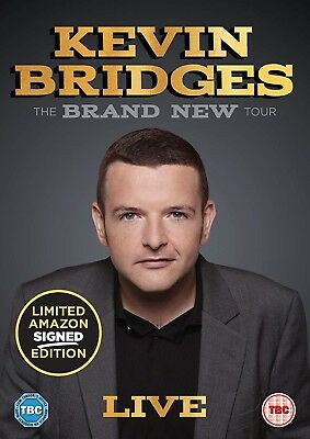 Kevin Bridges The Brand New Tour Live (Limited Edition Exclusive) DVD PRE-ORDER
