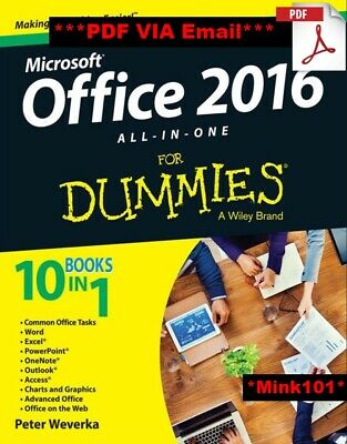 Microsoft Office 2016 All-In-One For Dummies - DIGITAL EDITION (PDF, Ebook)