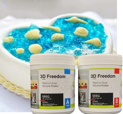 3D Food Grade Platinum Addition Cure Silicone Rubber, Clone Anything To Anything