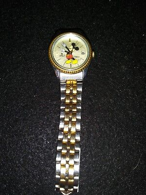 Lorus mickey mouse watch Working