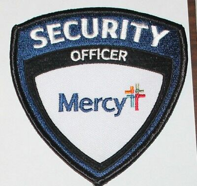 MERCEY HOSPITAL Security Officer patch