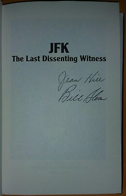 Rare Jean Hill Signed Book Kennedy Assassination Jfk Eyewitness The Lady In Red