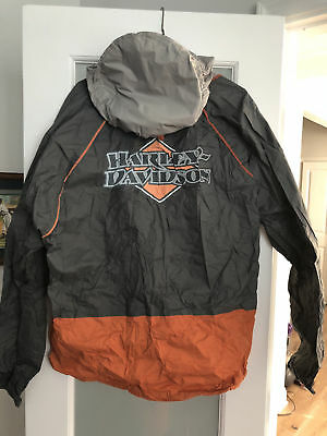 """HARLEY DAVIDSON  Rain Suit M  NWT ( Pack able )  """" NWT """""""