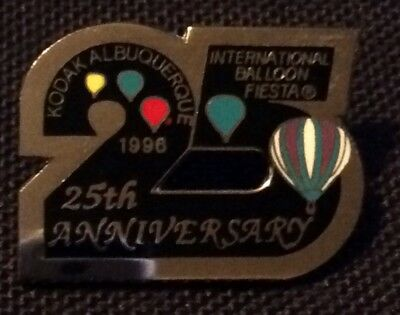 1996 Number 25 AIBF Albuquerque Balloon Fiesta Balloon Pin