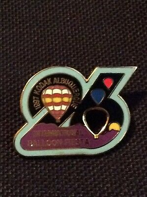 1997 Number 26 AIBF Albuquerque Balloon Fiesta Balloon Pin
