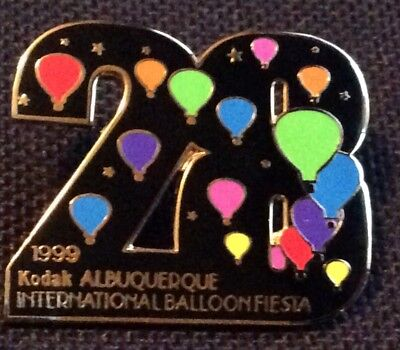 1999 Number 28 AIBF Albuquerque Balloon Fiesta Balloon Pin