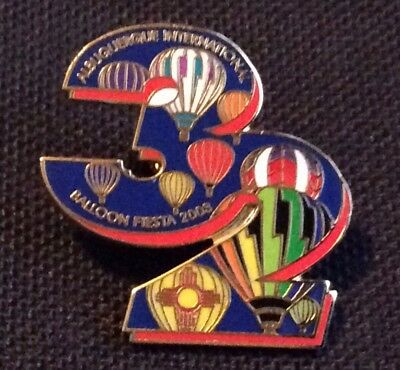2003 Number 32 AIBF Albuquerque Balloon Fiesta Balloon Pin