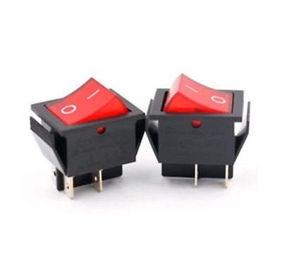 Details about   1PC Red Light 4 Pin DPST ON/OFF Snap in Rocker Switch 250V/125V
