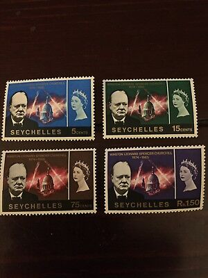 Seychelles 🇸🇨 Postage Stamps - 1966