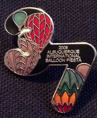 2008 Number 37 AIBF Albuquerque Balloon Fiesta Balloon Pin