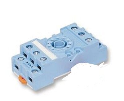 New Releco S2-S Relay Socket w/ retainer