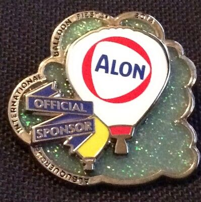 2014 Alon Official AIBF Sponsor Albuquerque Balloon Fiesta Pin