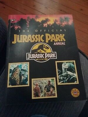 The Official Jurassic Park Annual Book pb 1992