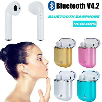 TWS Wireless Bluetooth Earphones Headphones Earbuds for iPhone Samsung Android.