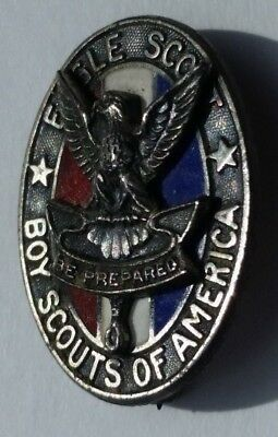 Eagle Scout Hat Pin Sterling NO BSA - Scout Earned the Rank of Eagle in 1945