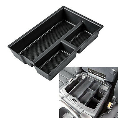 Car Centre Armrest Storage Insert Tray For Dodge Ram 1500 Accessories 2009-2018