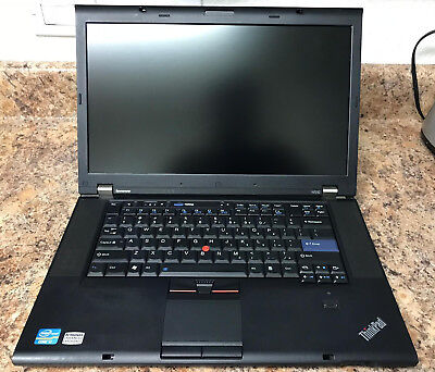 LENOVO THINKPAD W510 15 6in  Intel Core i7 1 73GHz, 4GB (No Hard Drive  Included)