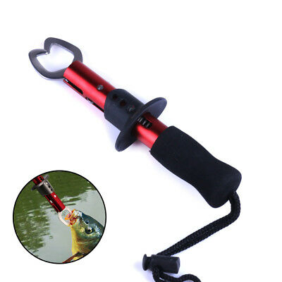 Stainless Steel Fish Lip Grabber Gripper Fishing Tool Grip Tackle Scale Pliers