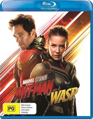 Ant-Man And The Wasp (Blu-ray, 2018) (Region B) New Release