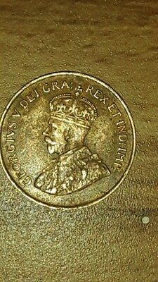1927 CANADA KGV 1 Cent Penny Highest Grade Condition Rare Must See