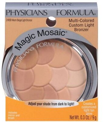 Physicians Formula Magic Mosaic 2459 Warm Beige Light Bronzer