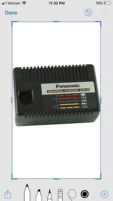 Genuine PANASONIC Universal Battery Charger NiMH & NiCd 120V EY0110B 12 18 24.4v