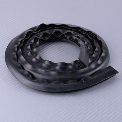 1.6m Car Rubber Soundproof Dustproof Sealing Strip Fit Auto Dashboard Windshield