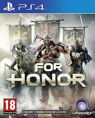 For Honor (pal Import)  - PlayStation 4 game - BRAND NEW