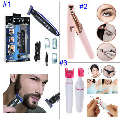 MicroTouch Micro Touch SOLO Rechargeable Razor Shaver and Trimmer As Seen On TV